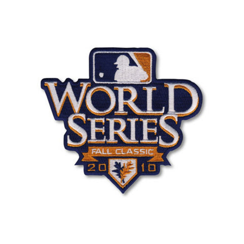 MLB Logo Patch - 2010 World Series Patch - Peazz Toys