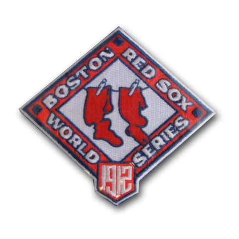 MLB World Series Logo Patches - 1912 Red Sox - Peazz Toys