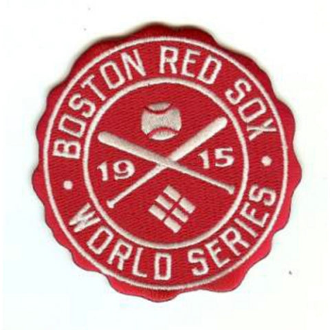 MLB World Series Logo Patches - 1915 Red Sox - Peazz Toys