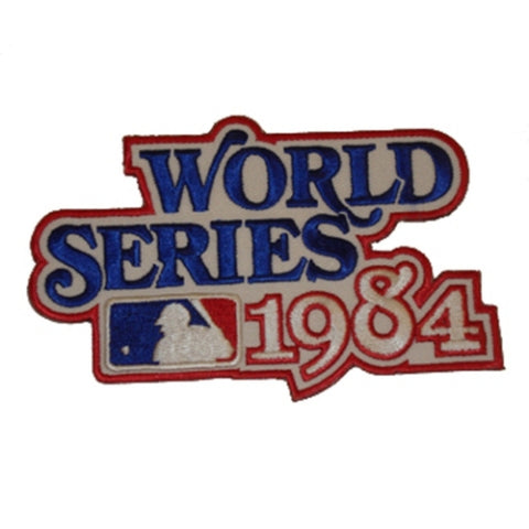 MLB World Series Logo Patches - 1984 Tigers - Peazz Toys