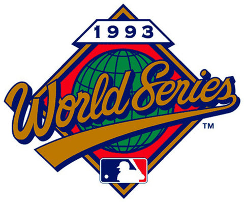 1993 World Series Patch - Peazz Toys
