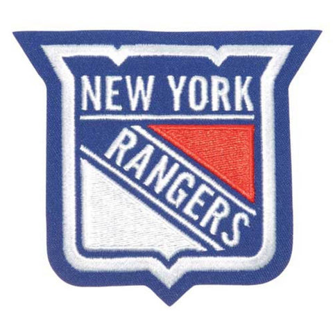 NHL Logo Patch - New York Rangers - Peazz Toys