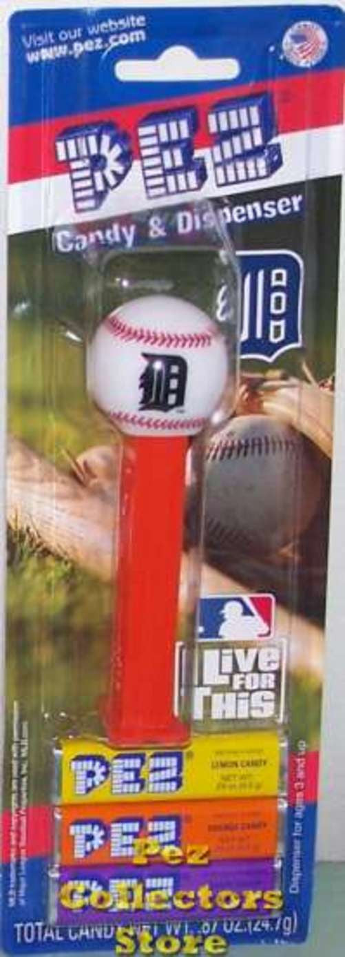 12 Packs of MLB Pez Candy Dispenser Tigers