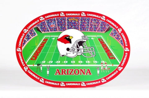 NFL Placemats (Set of 4) - Cardinals - Peazz Toys