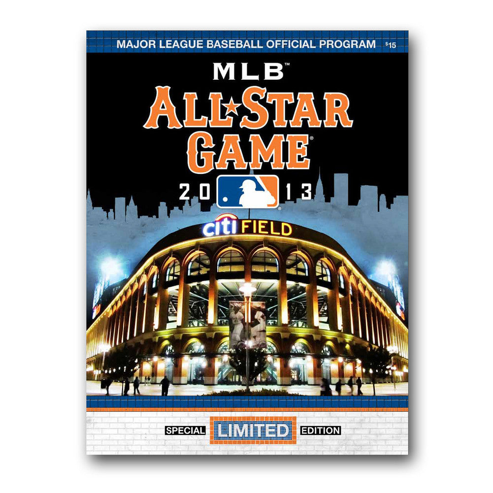 2013 MLB All Star Game Program