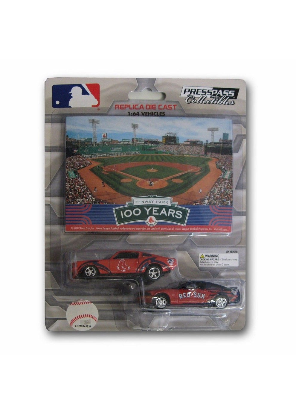 Mustang   Boston   Ford   Pack   Card   Sox   Red