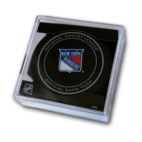 Official Hockey Puck - New York Rangers - Peazz Toys