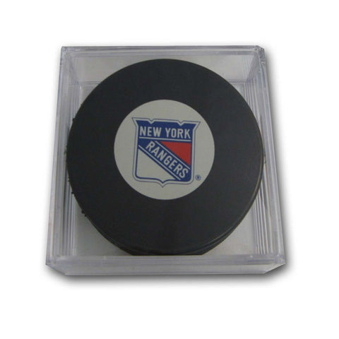 Hockey Puck - New York Rangers - Peazz Toys
