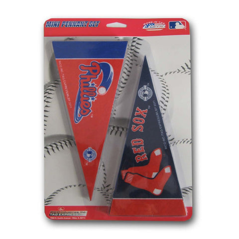 MLB Mini Pennant Set - Peazz Toys