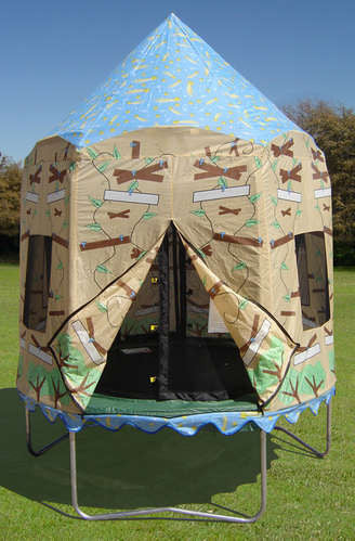 Bazoongi Bzjp7506ecth Treehouse Trampoline Tent (tent Only)
