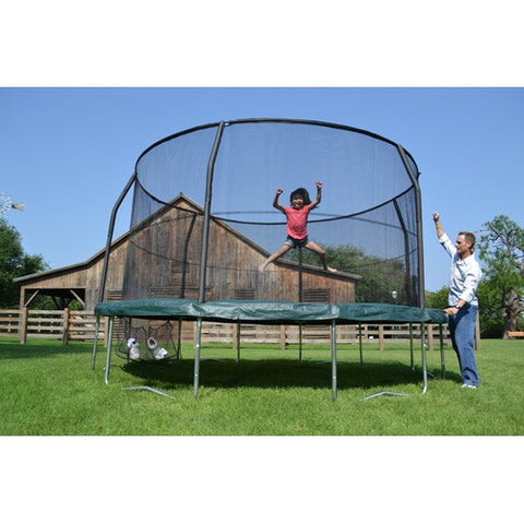 Bazoongi  JP1466C2 Jumppod Advanced 14' Trampoline And Enclosure - Peazz Toys