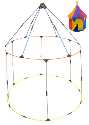 Bazoongi  RP-CIR Circus Play Structure Replacement Poles - Peazz Toys