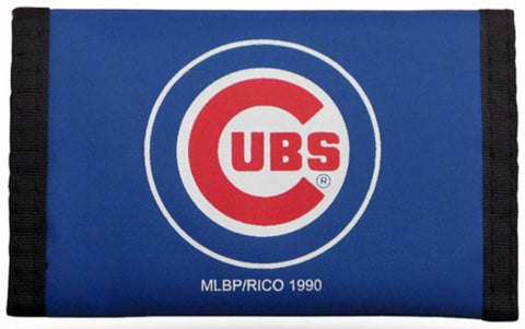 Nylon MLB Wallets - Chicago Cubs - Peazz Toys