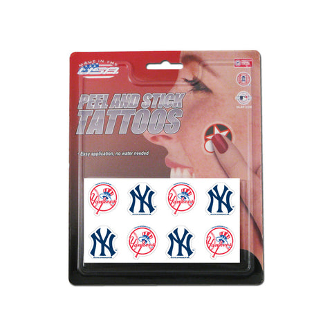 Rico MLB Tattoo Pack - New York Yankees - Peazz Toys