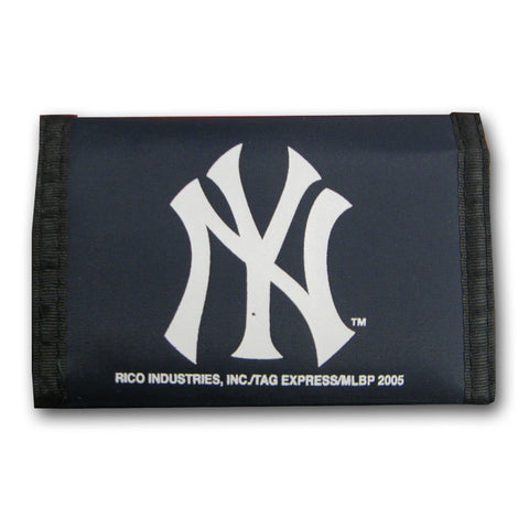 Nylon MLB Wallets - New York Yankees - Peazz Toys