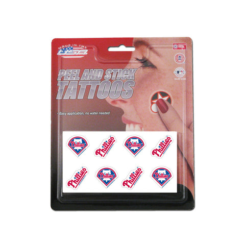 Rico MLB Tattoo Pack - Philadelphia Phillies - Peazz Toys
