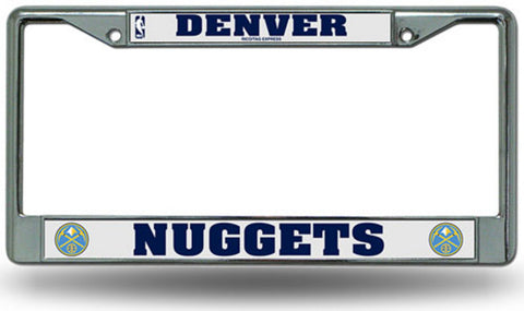 Rico License Plate Frame - Denver Nuggets - Peazz Toys