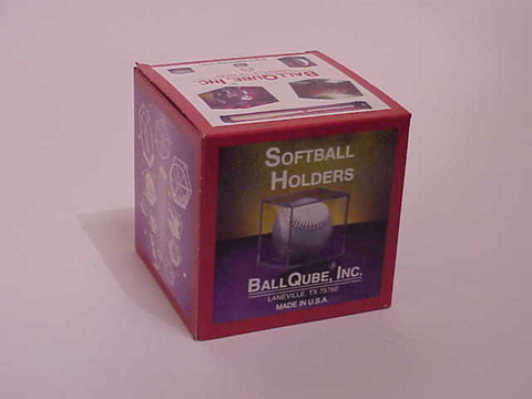 Balllqube Softballl Display Case - Peazz Toys