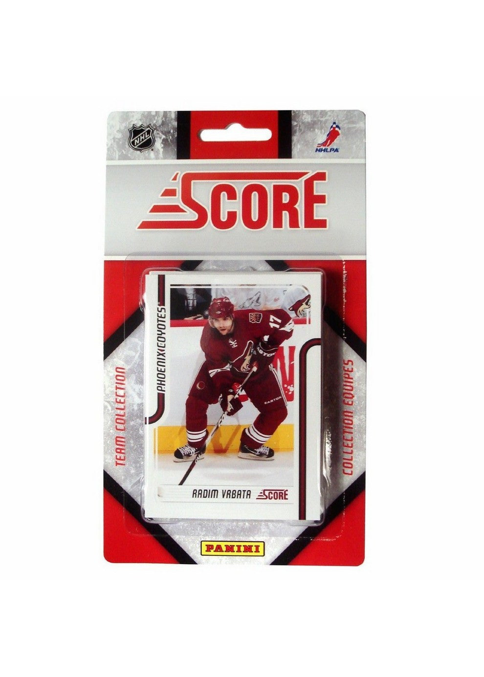 201112 Score NHL Team Set Phoenix Coyotes
