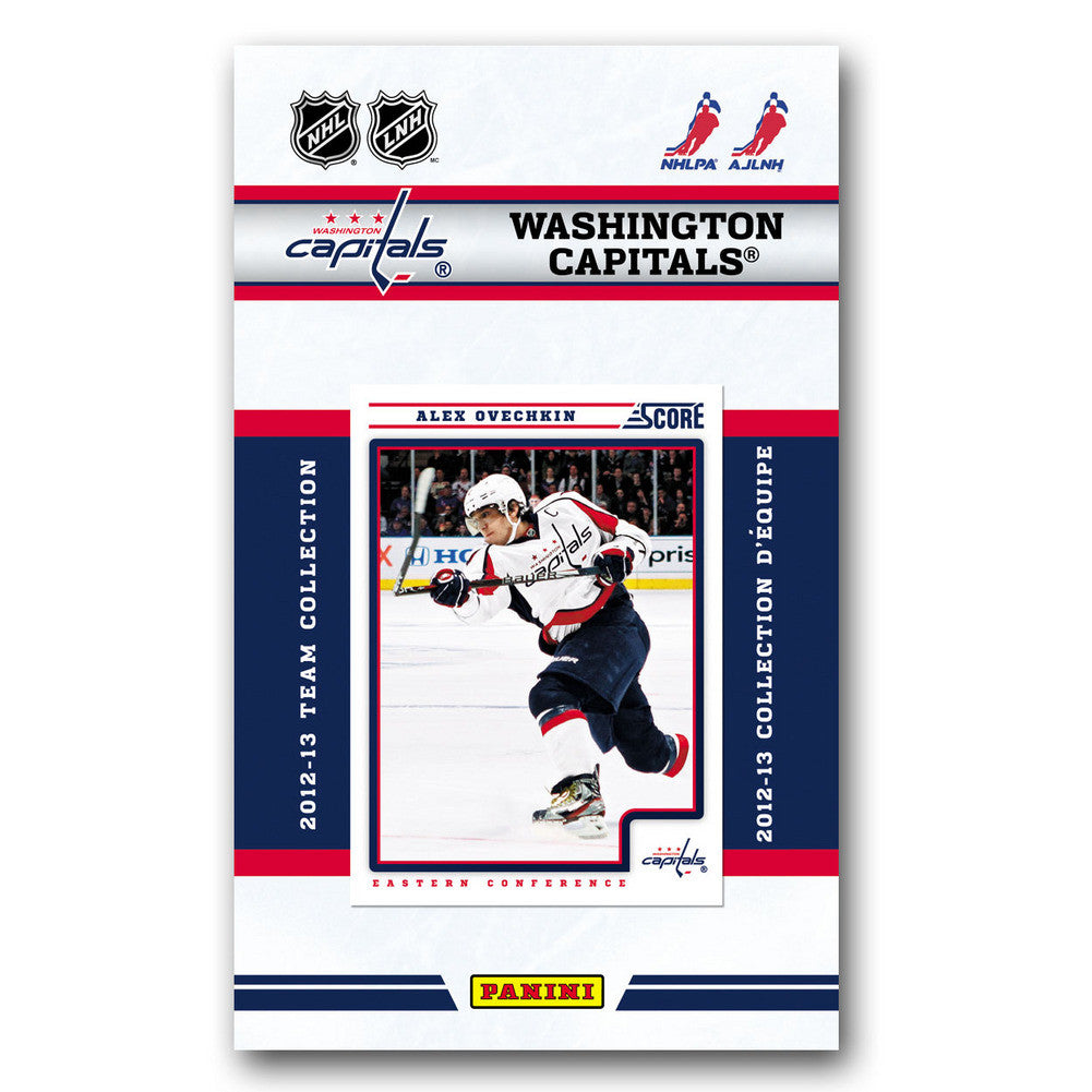 201213 Score NHL Team Set Washington Capitals