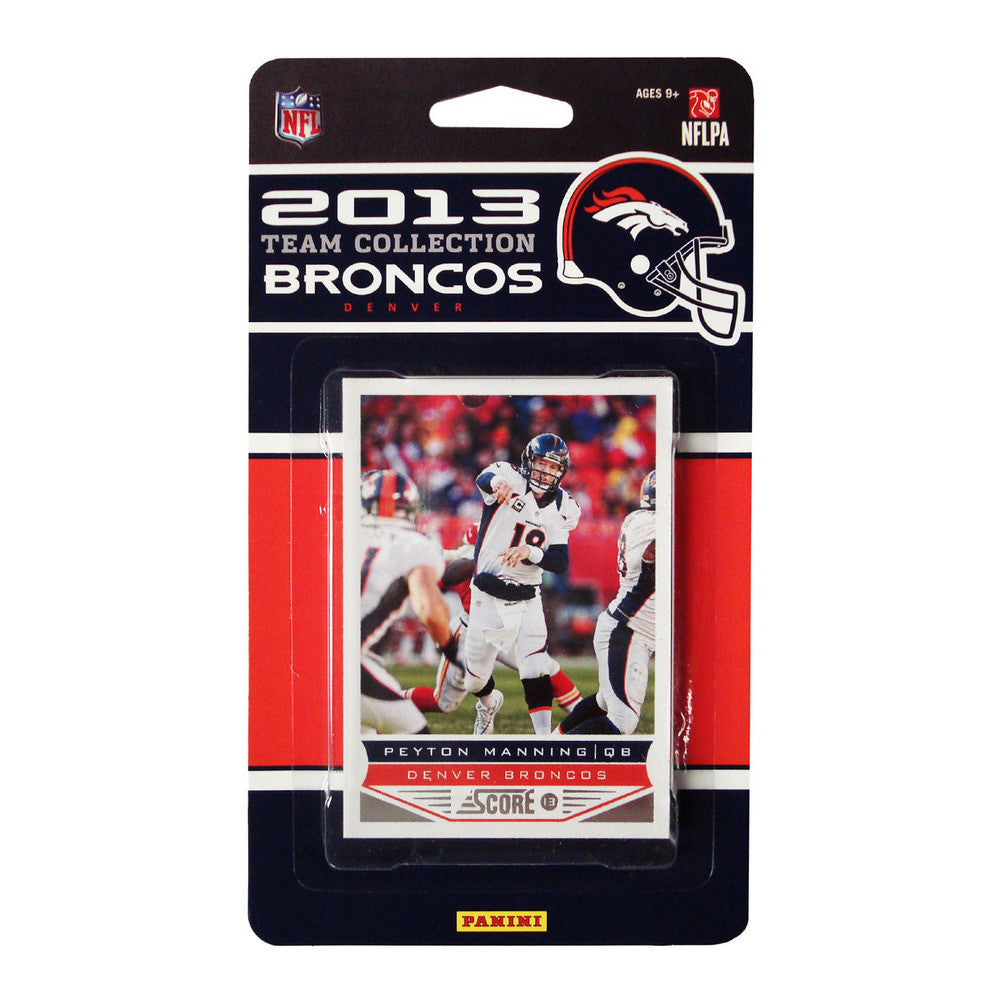 2013 Score NFL Team Set Broncos