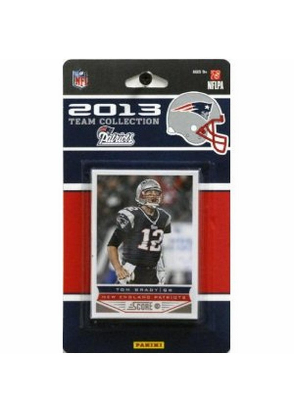 2013 Score NFL Team Set Patriots