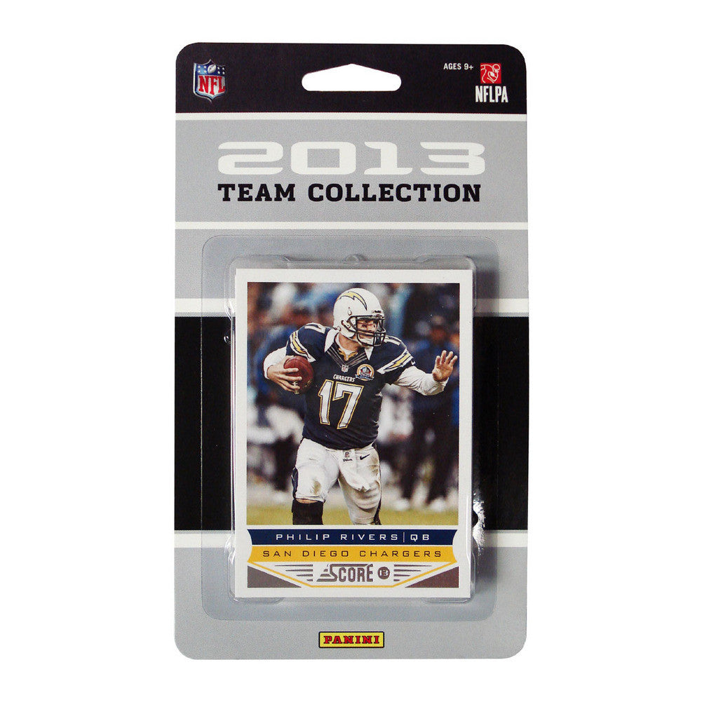 2013 Score NFL Team Set Chargers