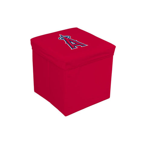 16-Inch Team Logo Storage Cube - Los Angeles Angels - Peazz Toys