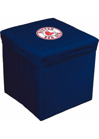 16-Inch Team Logo Storage Cube - Boston Red Sox - Peazz Toys