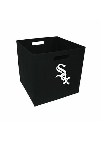 12-Inch Team Logo Storage Cube - Chicago White Sox - Peazz Toys