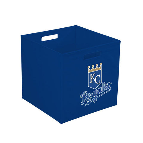 12-Inch Team Logo Storage Cube - Kansas City Royals - Peazz Toys