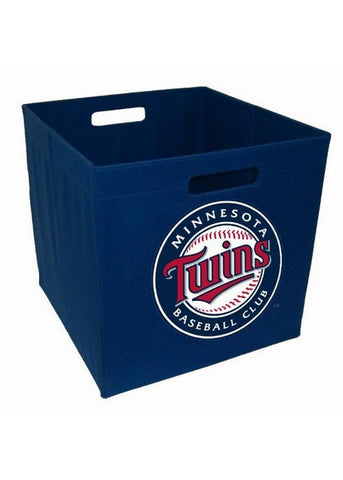 12-Inch Team Logo Storage Cube - Minnesotta Twins - Peazz Toys