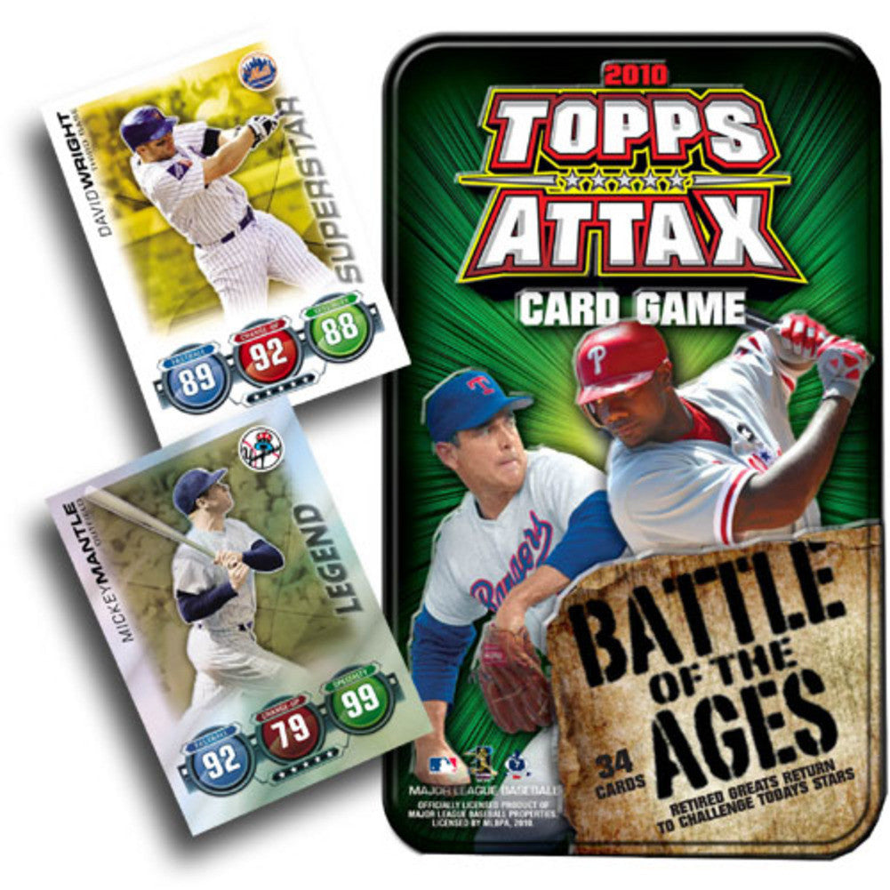 2010 Topps Attax Battle of The Ages Tin