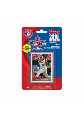 2010 Topps Team Set - Anaheim Angels All Star Commemorative Set - Peazz Toys