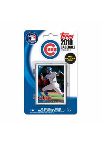 2010 Topps Team Set - Chicago Cubs - Peazz Toys