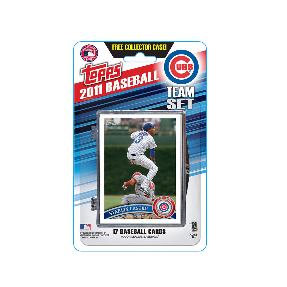 2011 Topps Team Sets Chicago Cubs