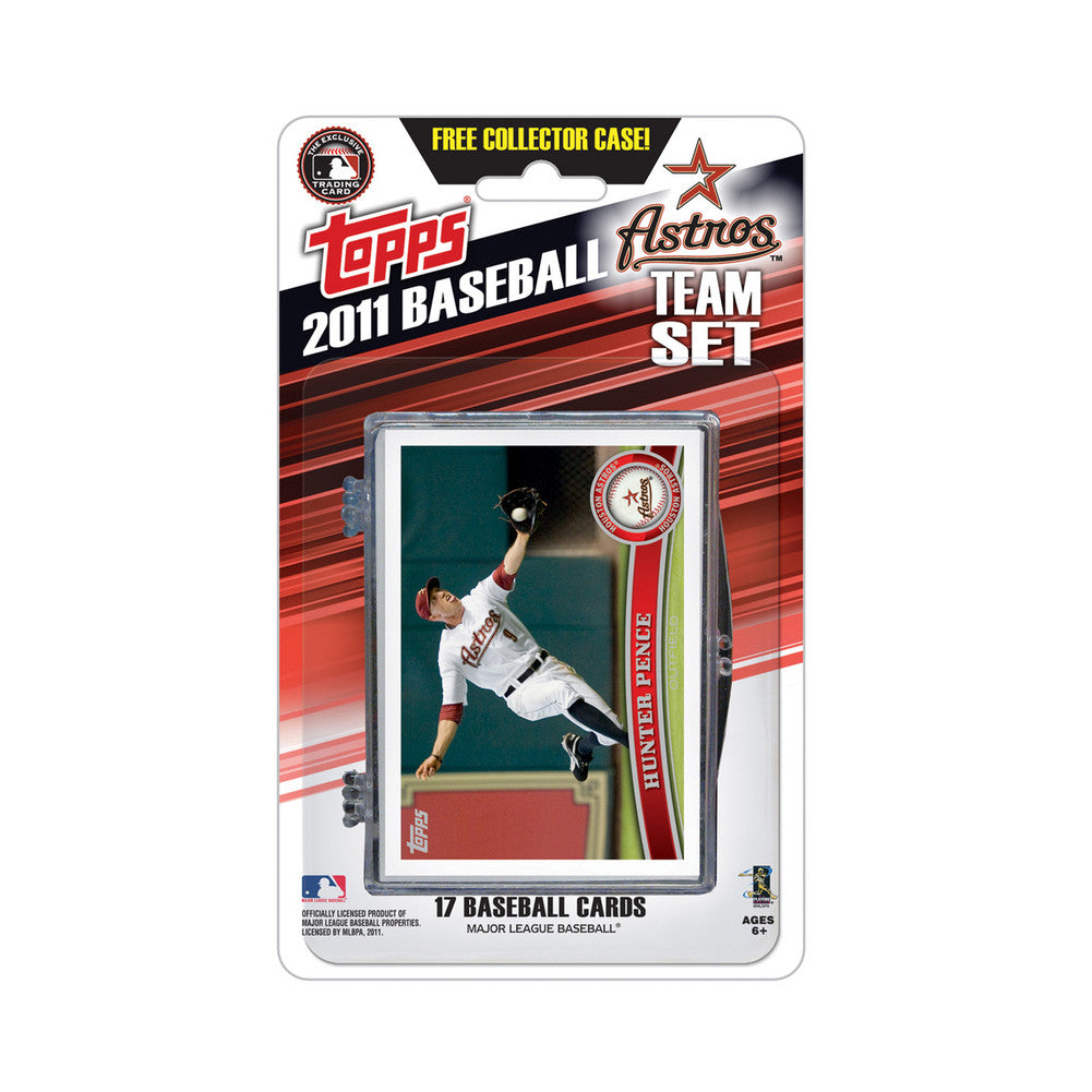 2011 Topps Team Sets Houston Astros