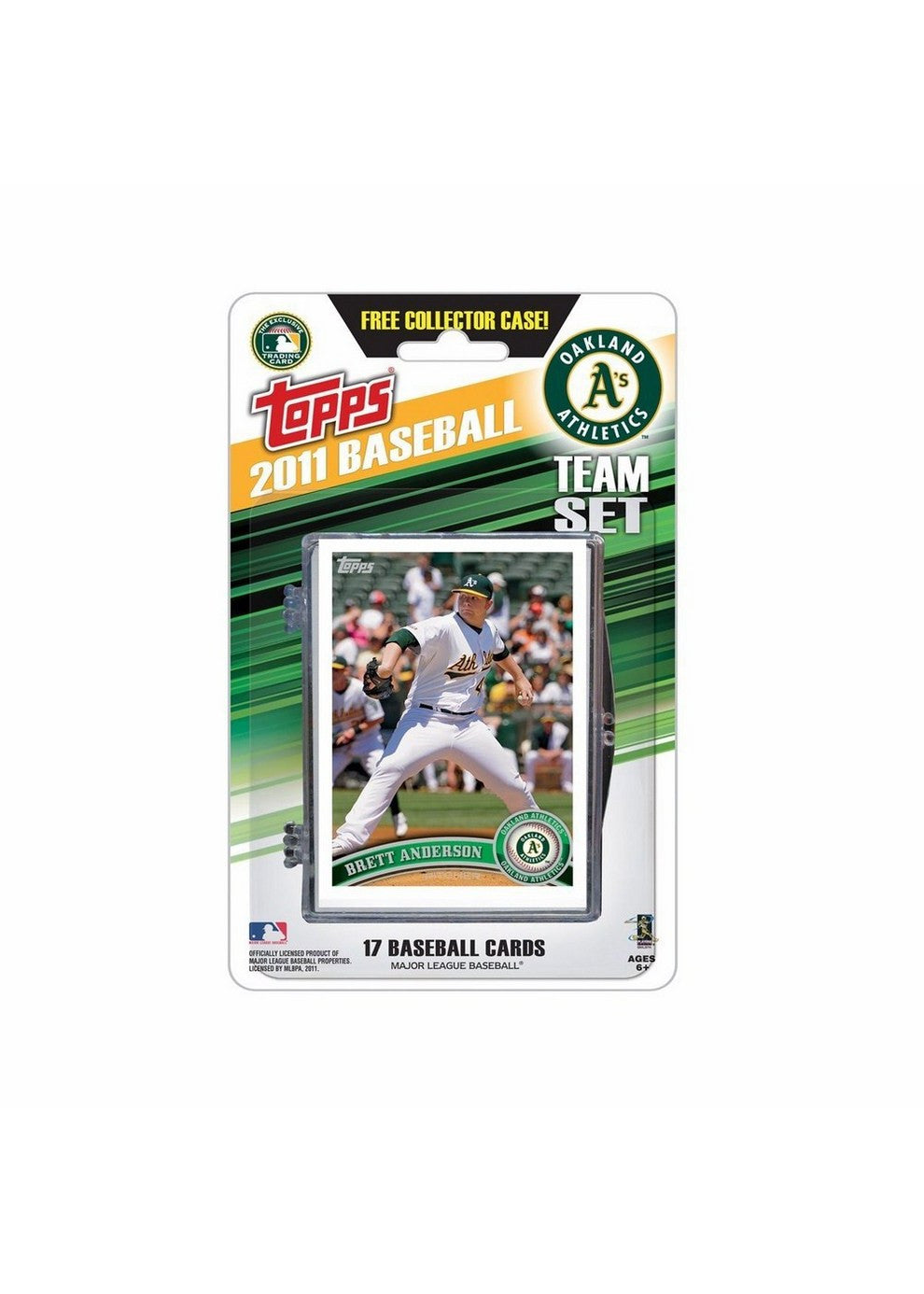 2011 Topps Team Sets Oakland Athletics