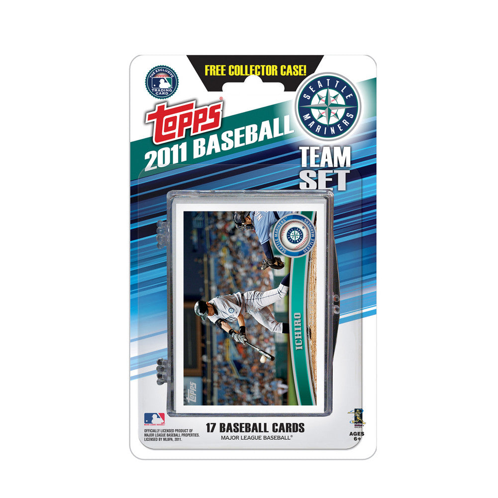 2011 Topps Team Sets Seattle Mariners