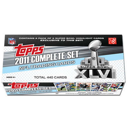 2011 Topps Super Bowl 46 Factory Set NFL - Peazz Toys