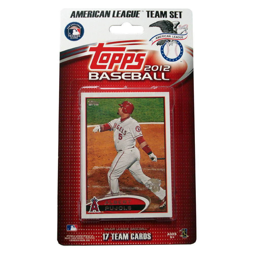2012 Topps Team Sets 2012 All Star Set American League