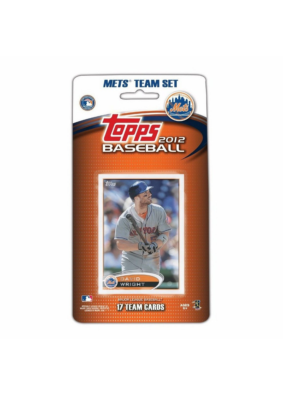 2012 Topps MLB Team Sets New York Mets