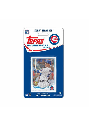 Topps 2013 Team Set - Chicago Cubs - Peazz Toys