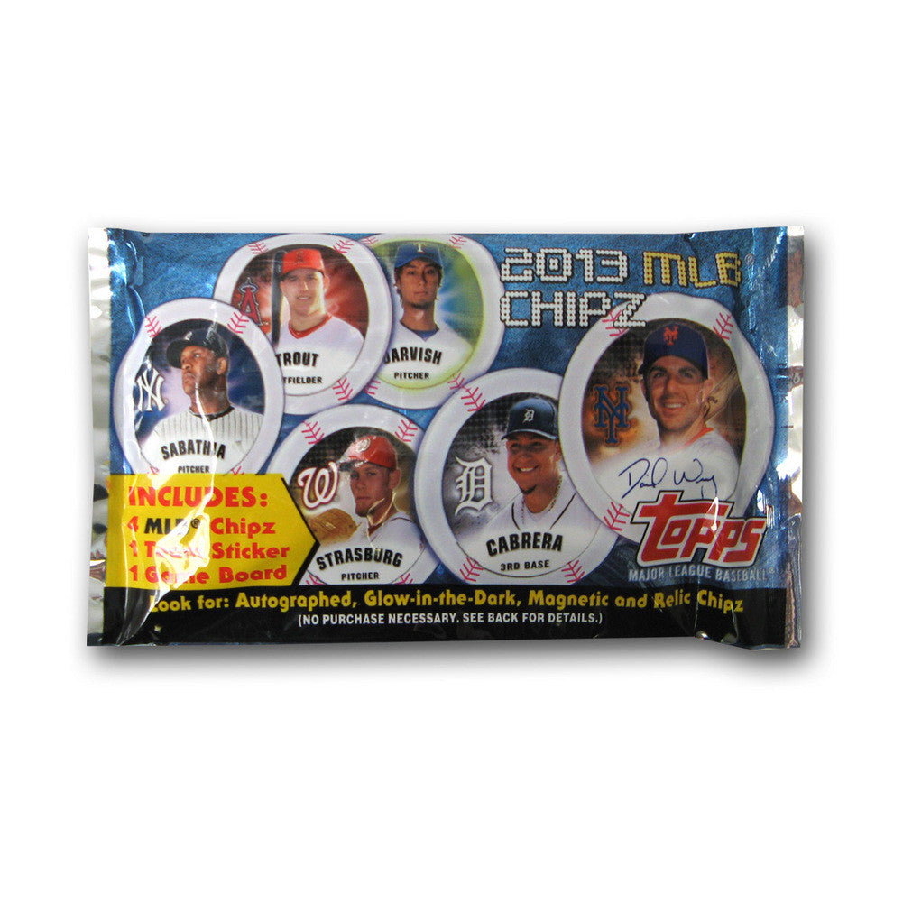 2013 Topps Chipz MLB Individual Pack