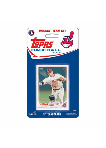 Topps 2013 Team Set - Cleveland Indians - Peazz Toys