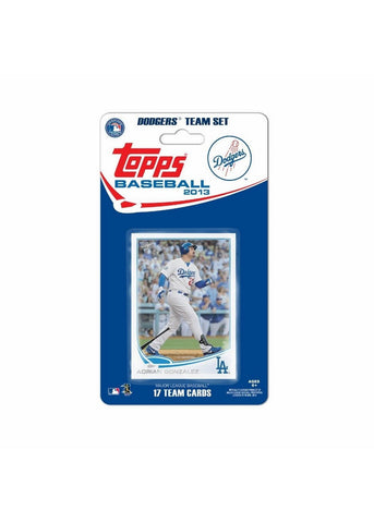 Topps 2013 Team Set - Los Angeles Dodgers - Peazz Toys