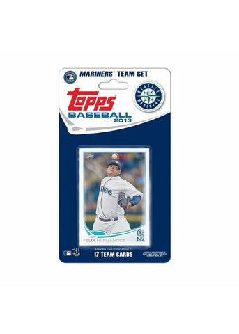 Topps 2013 Team Set - Seattle Mariners - Peazz Toys