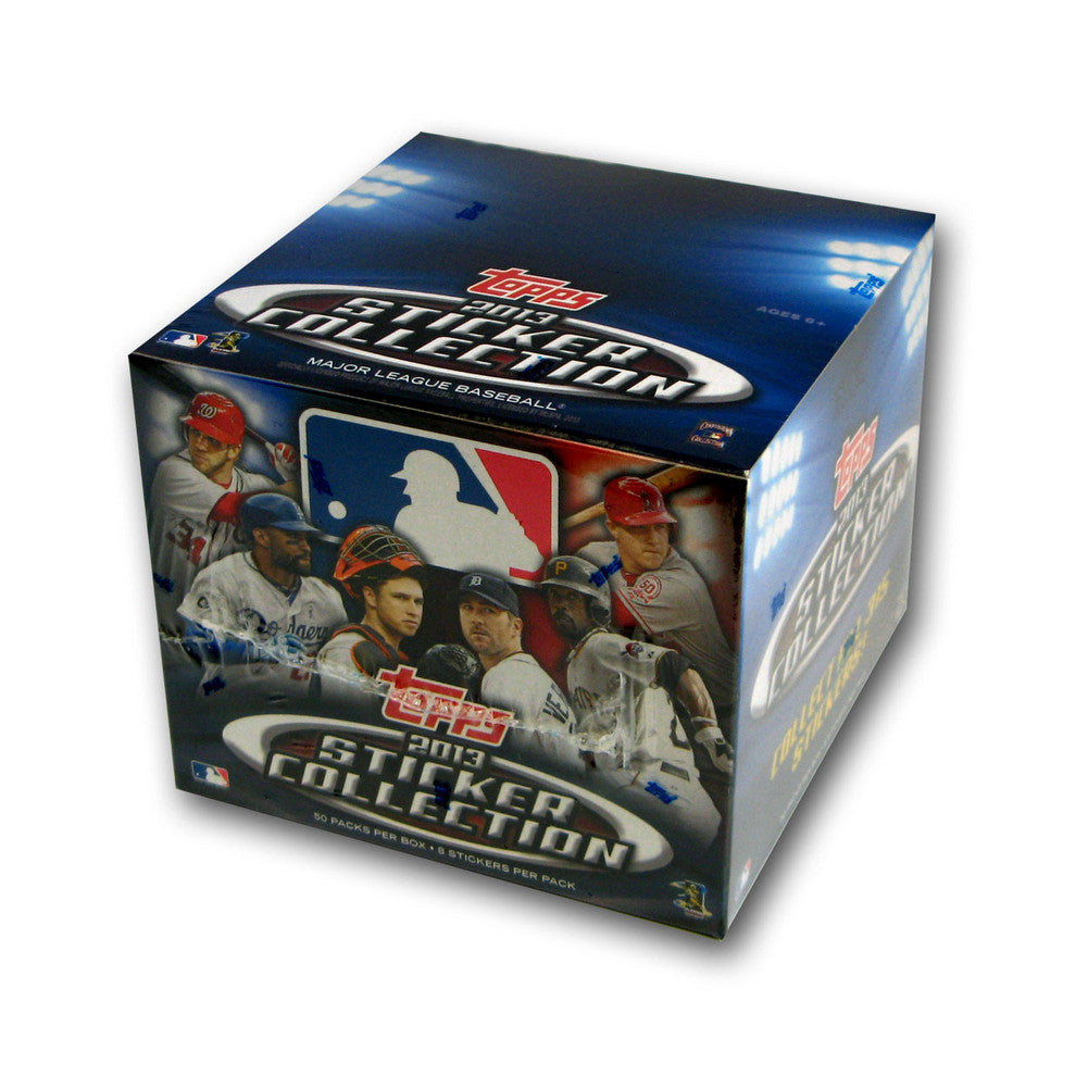 2013 Topps MLB Stickers Retail (50 Ct)