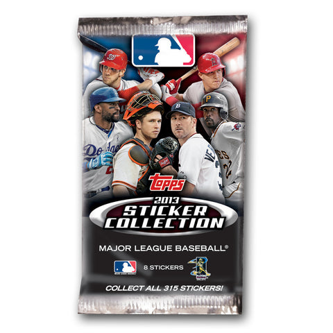 2013 Topps Sticker Individual Pack - MLB - Peazz Toys