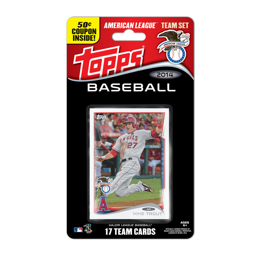 2014 Topps MLB Sets American League All Stars